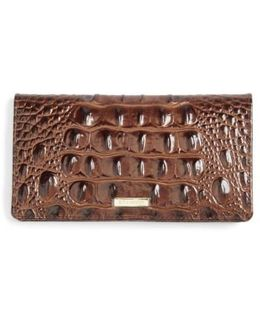 Melbourne Simone Croc Embossed Leather Wallet