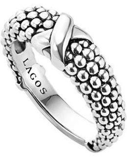 'signature Caviar' Ring