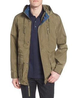 By Andrew Marc Hooded Field Jacket