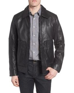 By Andrew Marc Herrod Perforated Leather Jacket