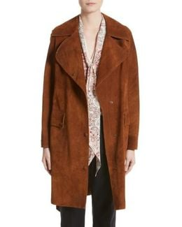 Airdale Suede Coat