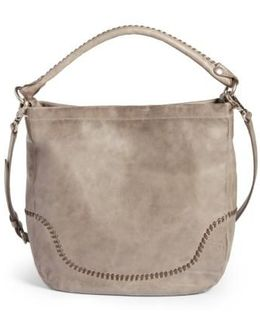 Melissa Whipstitch Leather Hobo