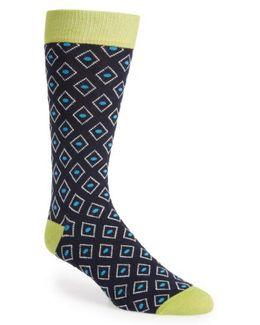Diamond Geo Socks