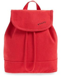Park Slope Hattie Canvas Backpack