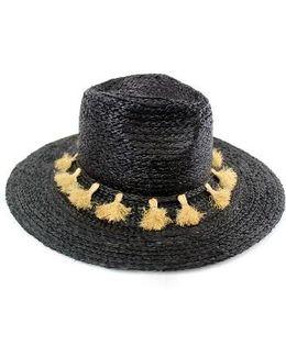 Mystros Tassel Panama Hat