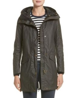 Bayford Water Resistant Waxed Cotton Parka