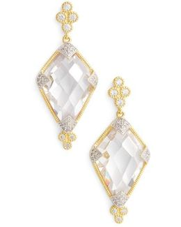 Visionary Fusion Cubic Zirconia Drop Earrings