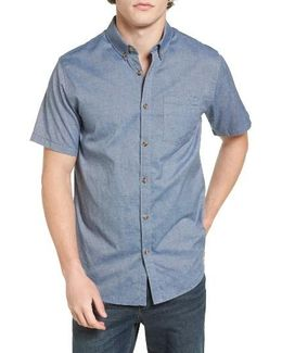 All-day Short-sleeve Oxford Shirt
