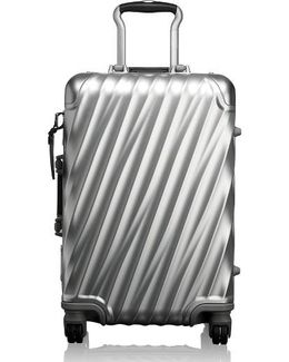 19 Degree Collection International Wheeled Aluminum Carry-on - Metallic