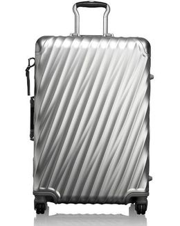 19 Degree Collection Wheeled Aluminum Short Trip Packing Case - Metallic