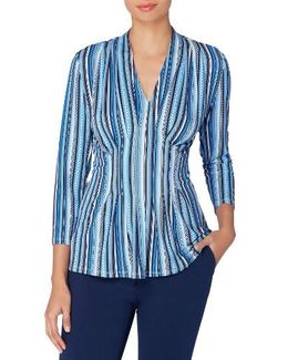 Rea Stripe Top