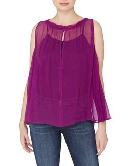 Catherine Catherine Malindrino Geno A-line Blouse