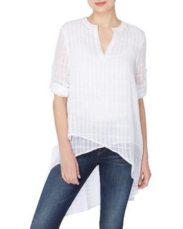 Livy High/low Blouse