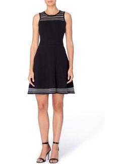 Niro Sheer Stripe Dress