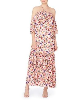 Paxton Halter Maxi Dress