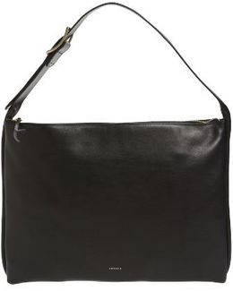 Anesa Leather Shoulder Bag