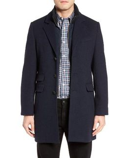 Leclair Wool & Cashmere Topcoat