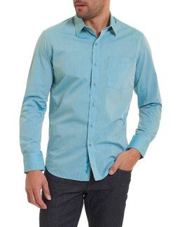 Groves Tailored Fit Sport Shirt