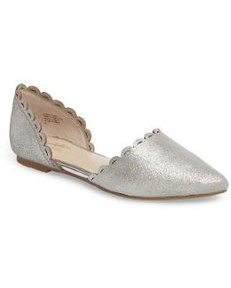 Research Pointy Toe D'orsay Flat