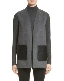 Nika Wool & Cashmere Reversible Vest