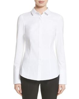 Azra Jersey Sleeve Blouse