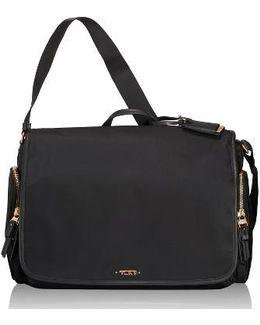 Lola Water Resistant Nylon Crossbody Bag