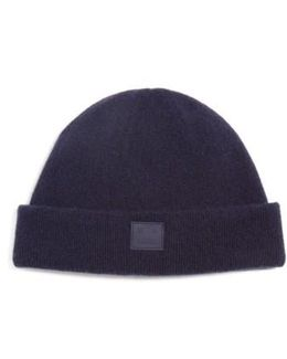 Knut Face Patch Wool Beanie