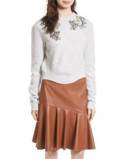 Merino Wool Blend Pullover