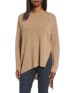 Asymmetrical Merino Wool Pullover