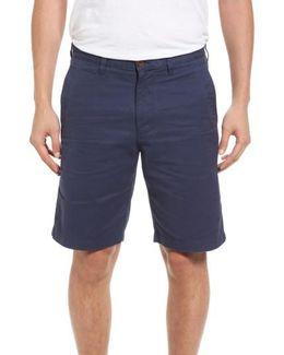 Aegean Flat Front Chino Shorts