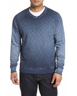 Santiago Ombre V-neck Sweatshirt