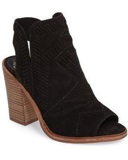 Karinta Block Heel Bootie