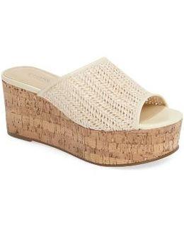 Crisp Platform Wedge Sandal