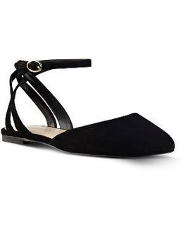 Begany Ankle Strap Flat