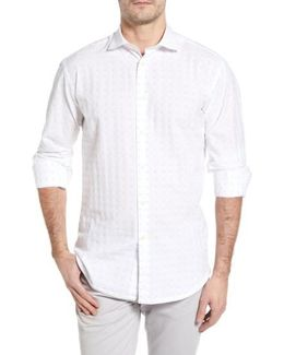 Classic Fit Fil Coupe Sport Shirt