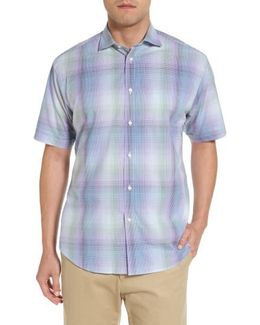 Classic Fit Shadow Check Sport Shirt