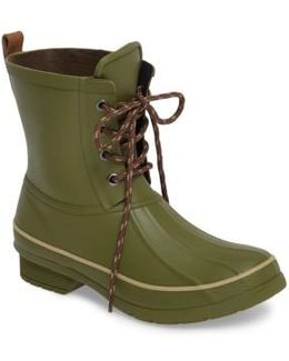Classic Lace-up Duck Boot