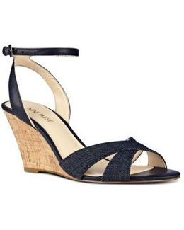 Kami Ankle Strap Wedge Sandal