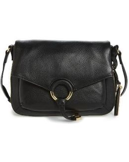 Adina Leather Crossbody Bag