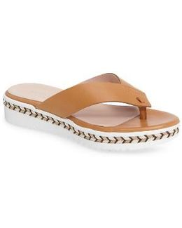Brooklyn Wedge Flip Flop