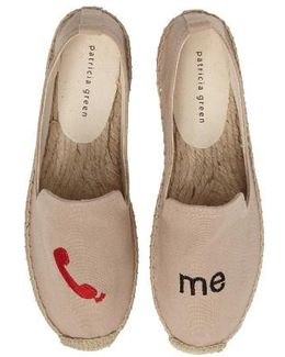 Call Me Espadrille Flat