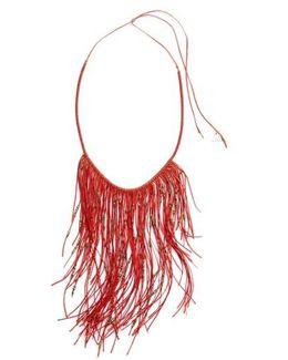 Glistening Fringe Necklace