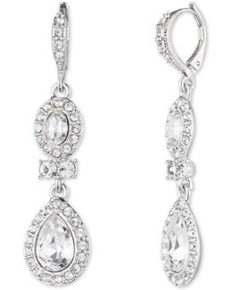 Pear Double Drop Earrings