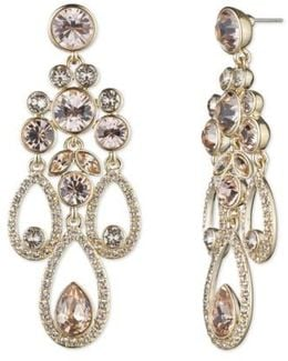Drama Chandelier Crystal Earrings