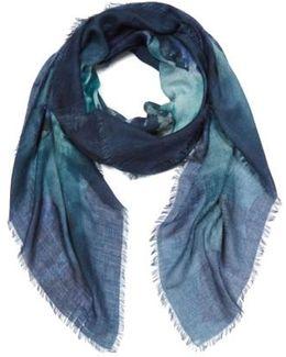 Manioco Silk, Wool & Cashmere Scarf