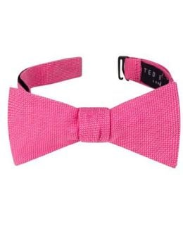 Solid Cotton Bow Tie