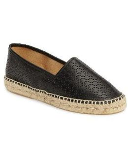 Anna Perforated Espadrille