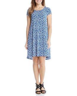 Maggie Print Trapeze Dress