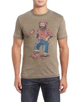 Lumbear Jack Graphic T-shirt