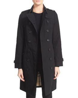 Sandringham Long Slim Trench Coat